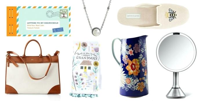 diferentes ideas sobre que regalar a una suegra, bolso, pantuflas, detalles decorativos para el hogar, ideas regalos de cumpleaños originales