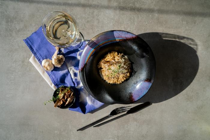 como preparar la mejor receta de risotto casero en casa, ideas para comidas ricas y saludables, fotos de recetas