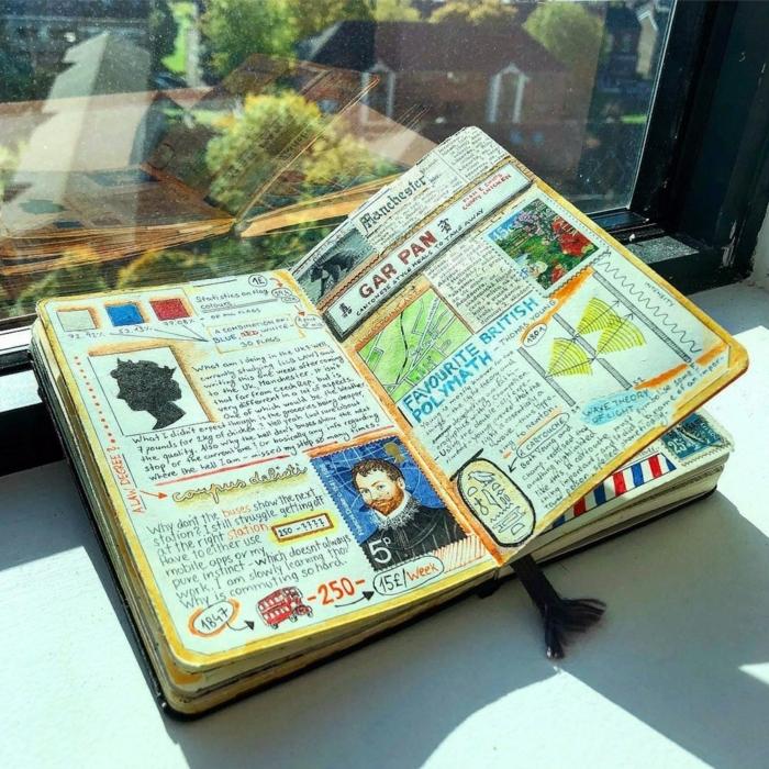regalos personalizados hechos a mano, manualidades para regalar a tus amigos, cuaderno DIY paso a paso