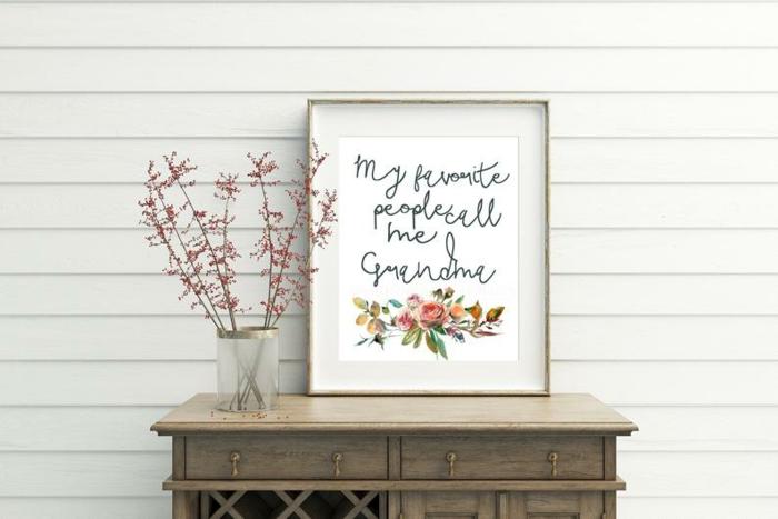 ideas de laminas y cuadros decorativos para el cumple de tu abuela, regalos de cumpleaños originales y personalizados