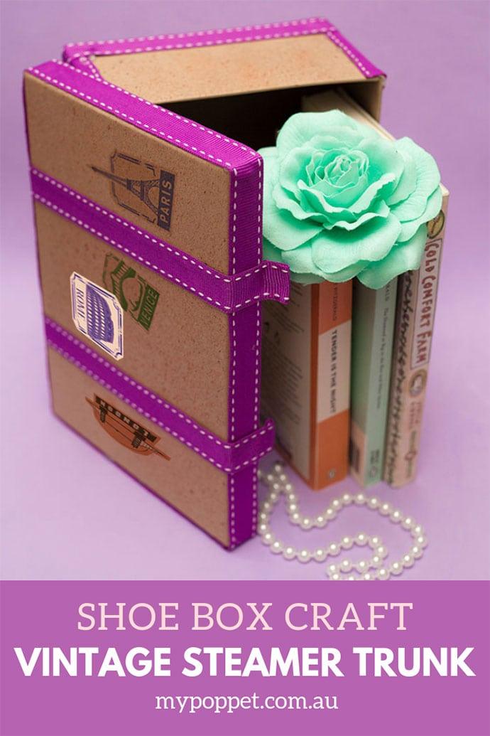 caja decorada personalizada para guardar losrecuerdos de tus viajes, regalos DIY creativos, regalos para mejores amigas