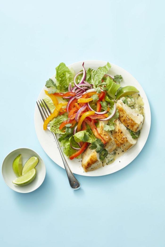 recetas sanas ligeras para estar a dieta, pollo al horno con verduras, recetas caseras fáciles y saludables
