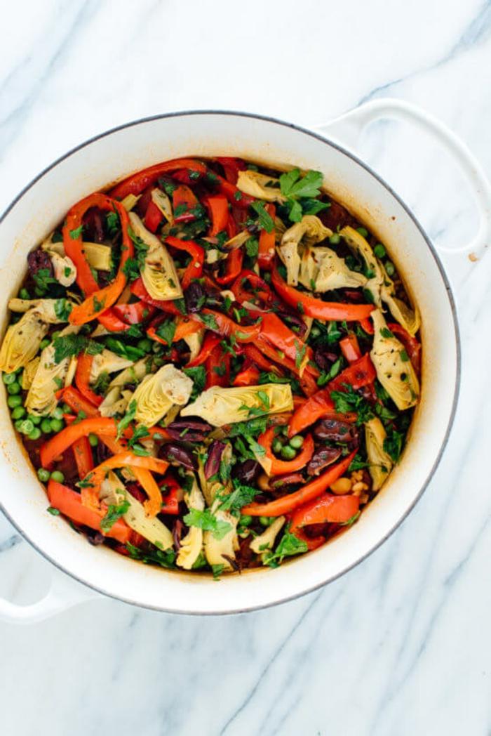 platos vegetarianos con vegetales, platos con legumbres y verduras, ideas de cenas que no engordan para vegetarianos