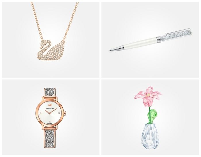 regalos con cristales Swarovski, ideas sobre como soprender a tu suegra por su cumpleaños, regalos originales para mujeres