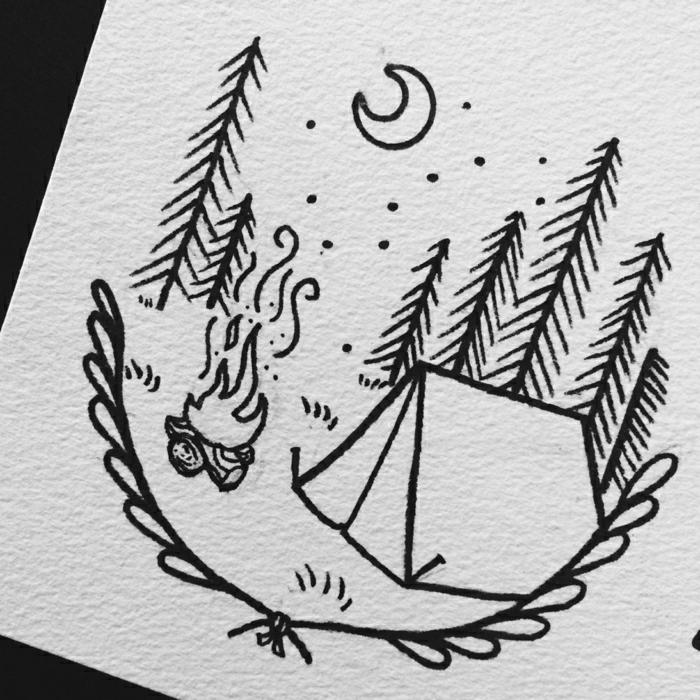 adorables diseños de tatuajes para reidibujar, dibujos faciles de hacer y originales para hacer en casa