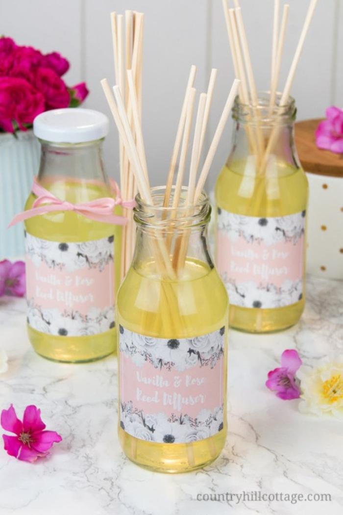 aromatizantes DIY para que tu casa huela a primavera, ideas DIY en fotos, como hacer un aromatizador