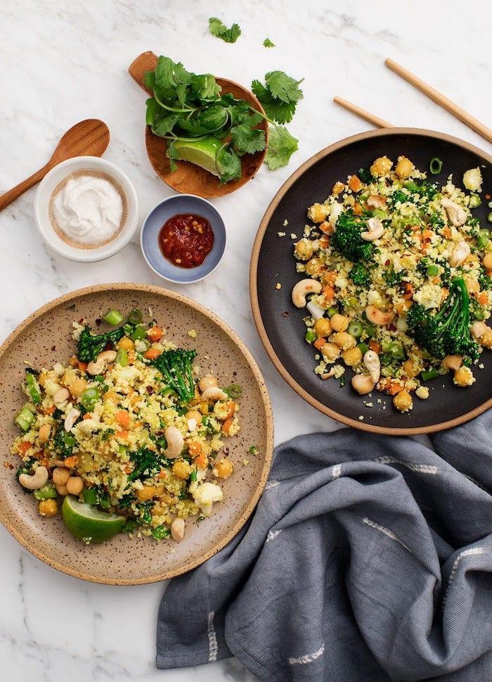comidas ricas con vegetaels, ideas de platos vegetariano para perder peso, cenas con brócoli, recetas de brocoli fáciles y rápidas