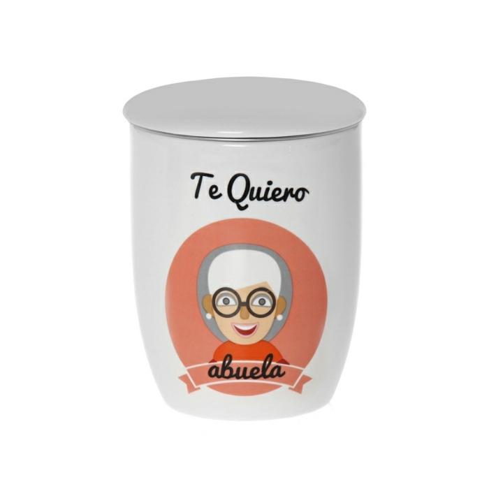 taza personalizada te quiero abuela, ideas de tazas personalizadas, regalos de cumpleaños especiales para abuelas