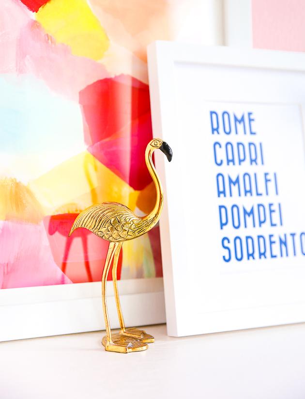 lamina decorativa con las ciudades de Italia que uno debe visitar, ideas de regalos para decorar la casa, cuadros decorativos