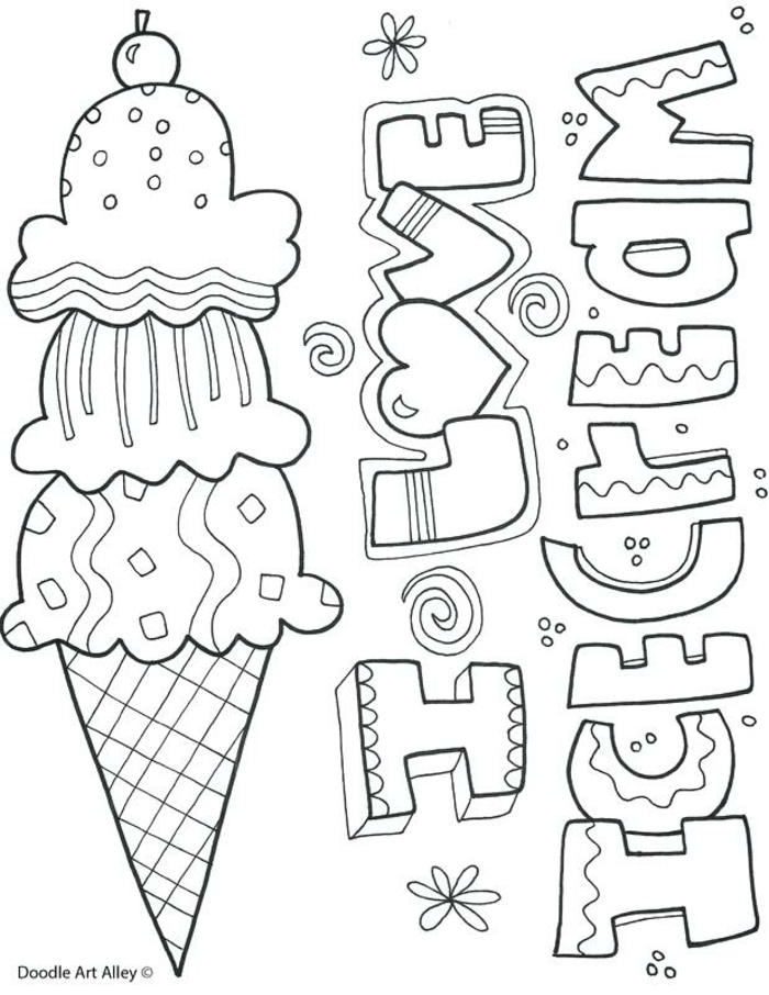 original drawing ideas that you can print and trace, small ideas, original coloring pages