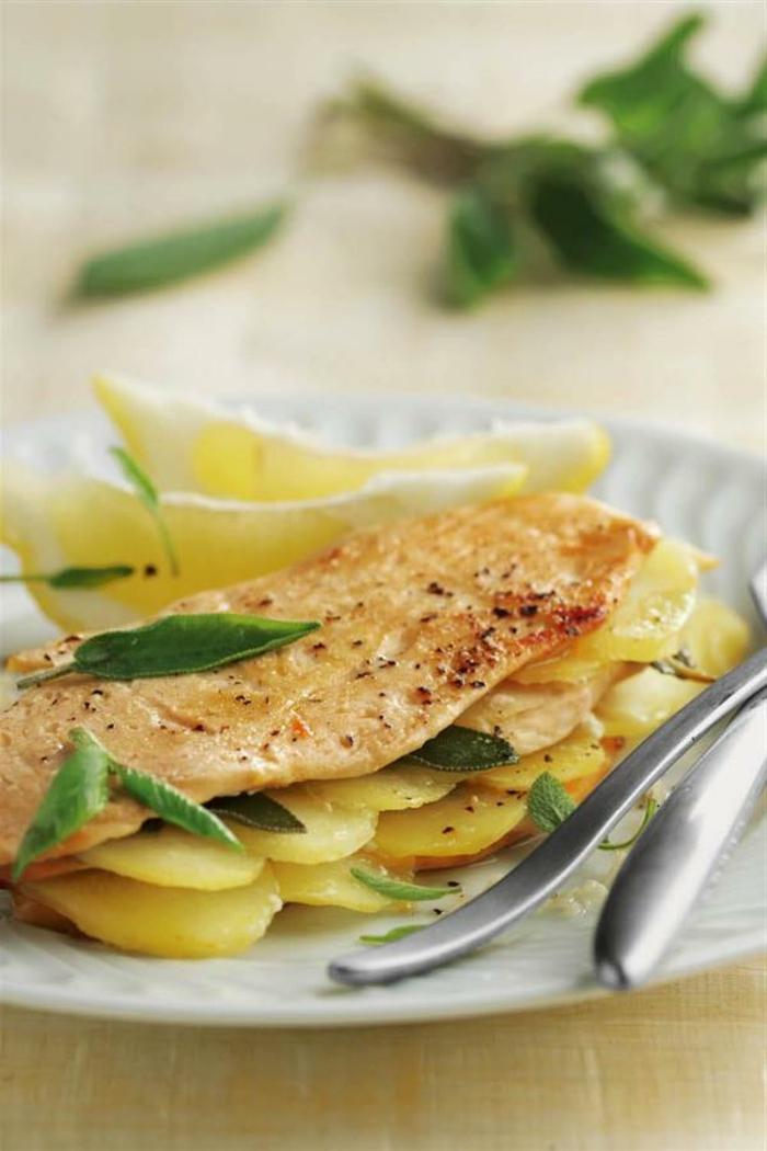 pollo con papas y verduras, como cocinar de manera saludable, cenas con amigos ideas de platos sanos