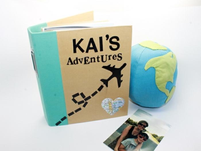 album de fotos DIY, regalos para hermanas, ideas de regalos unicos para hacer en casa, las aventuras de kai