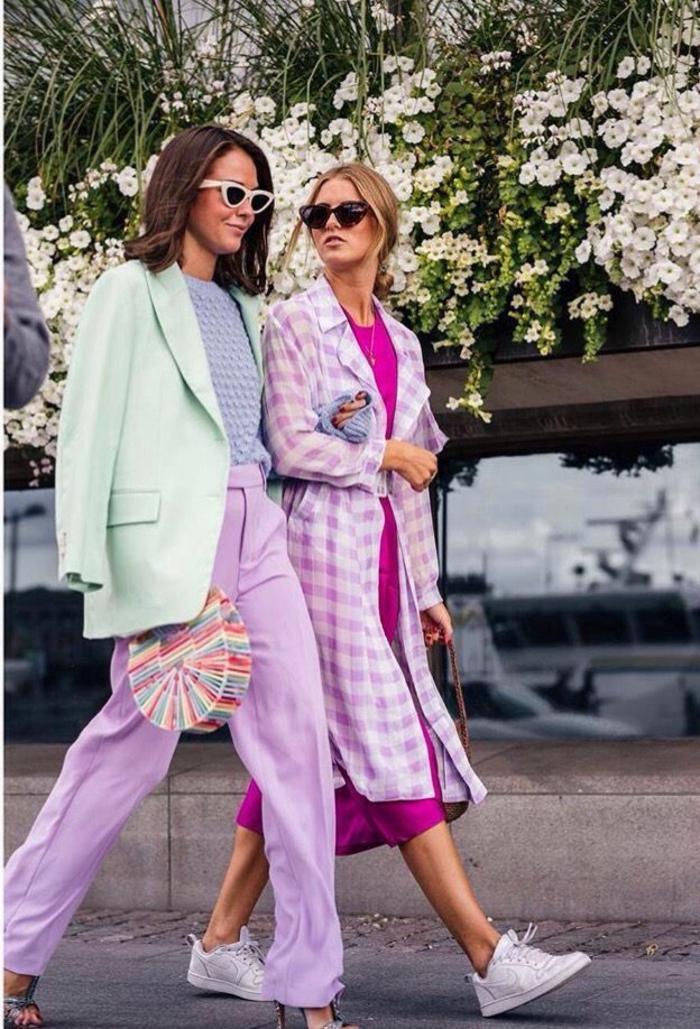 colores pastel que combinan bien entre si, paleta de colores pastel, verde menta combinado con lavanda, rosado y azul