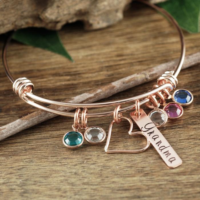 originales ideas de joyas DIY para regalar, regalos originales para mujeres en fotos, ideas de regalos personalizados