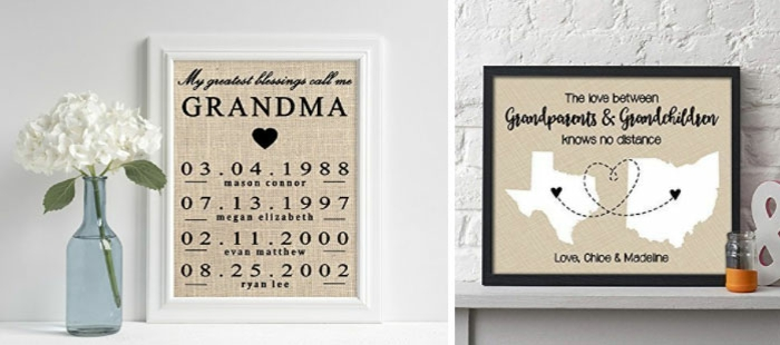 laminas decoraticas originales, ideas de regalos sentimentales para abuelas, 80 fotos con ideas de regalos para abuelas
