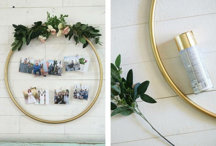 regalos manuales con fotos, colgante bonito con flores y fotos, regalos originales para mujeres, ideas de regalos DIY