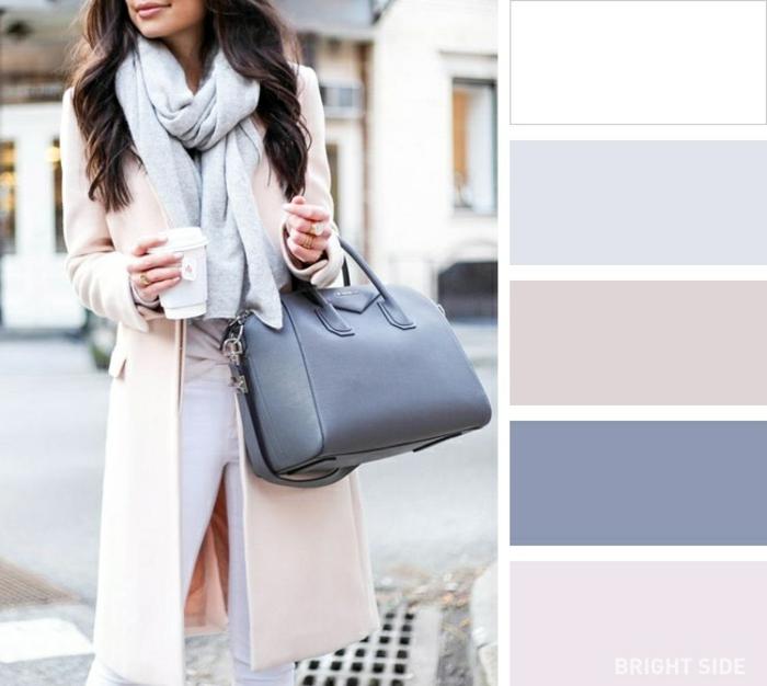 fantásticas ideas sobre como combinar los colores pastel en un outfit, combinaciones de ropa bonitas ideas en fotos