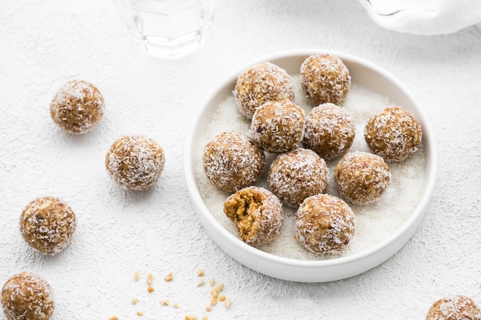 saludables alternativas de postres y desayunos dulces para una dieta equilibrada y saludables, ideas de bocados energéticos paso a paso
