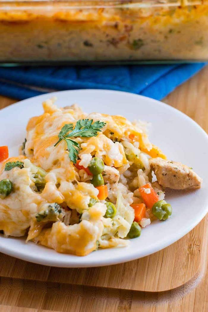 recetas caseras con carne y vegetales, recetas para preparar para 30 minutos en el horno, ideas de recetas faciles para cenar