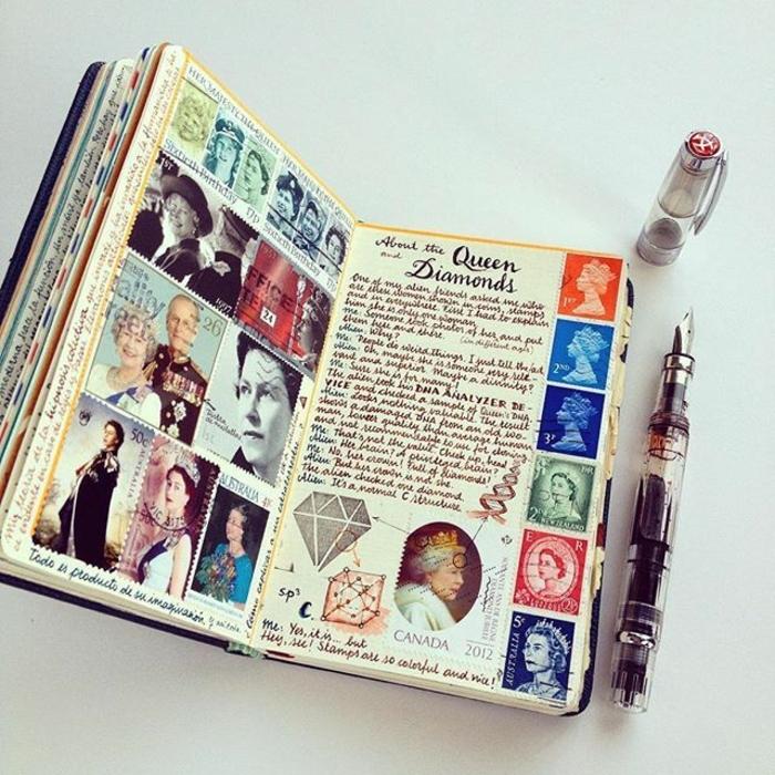 cuaderno vintage, fantásticas propuestas sobre que regalar a tu novio por su cumpleaños, fotos de regalos DIY unicos