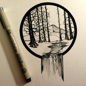 Descubre el encanto de los dibujos en blanco y negro