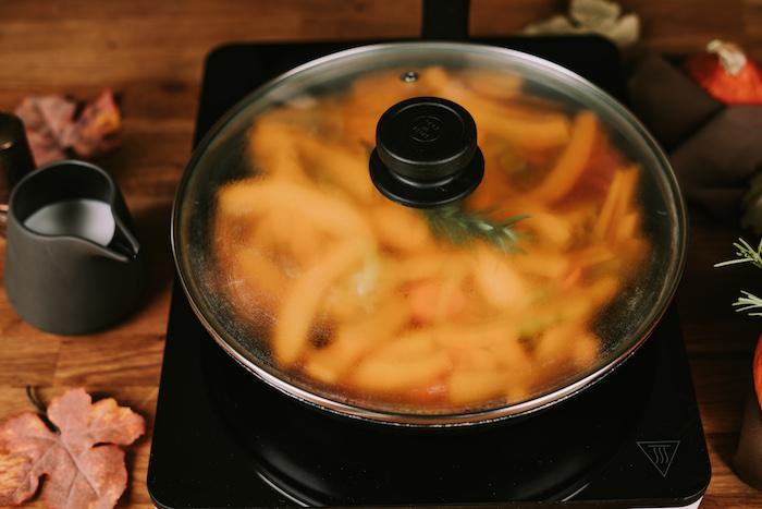 geniales ideas sobre como preparar crema de calabaza receta, tutoriales de recetas en fotos, ideas de sopas cremosas