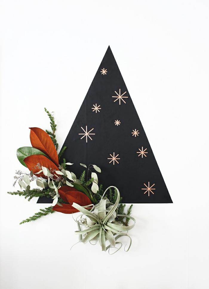 adornos navideños originales y fáciles de hacer, como hacer un arbol de navidad paso a paso, pasos para hacer manualidades