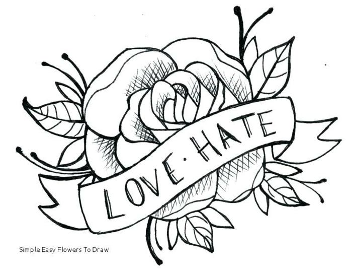 diseño de tatuaje en estilo vintage, dibujos de motivos vintage para tatuajes, ideas de diseños originales y fáciles de dibujar