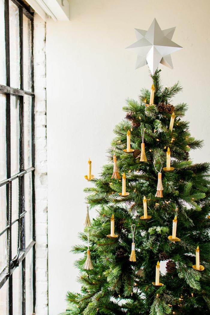 preciosas ideas sobre cómo decorar un árbol navideño y últimas tendencias 2019, arboles de navidad originales caseros