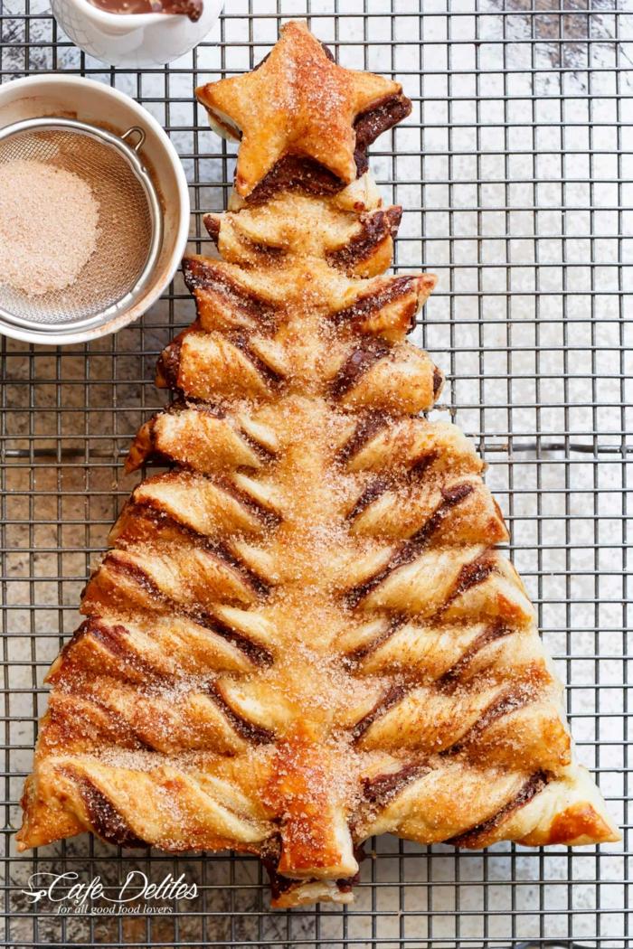 90 ideas sobre como hacer un arbol de navidad buitoni, árboles de hojaldre dulces y salados, ideas de platos caseros ricos
