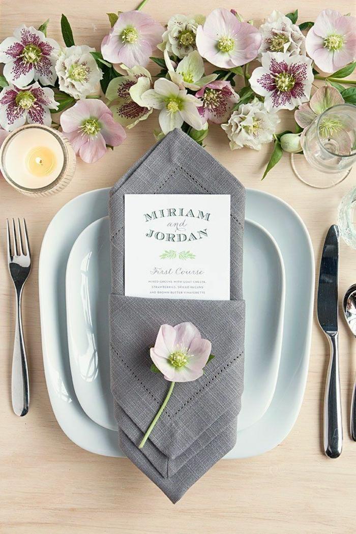 las mejores propuestas de decoración DIy con servilletas de tela, doblaje de servilletas para bodas y cocteles, decoración con flores
