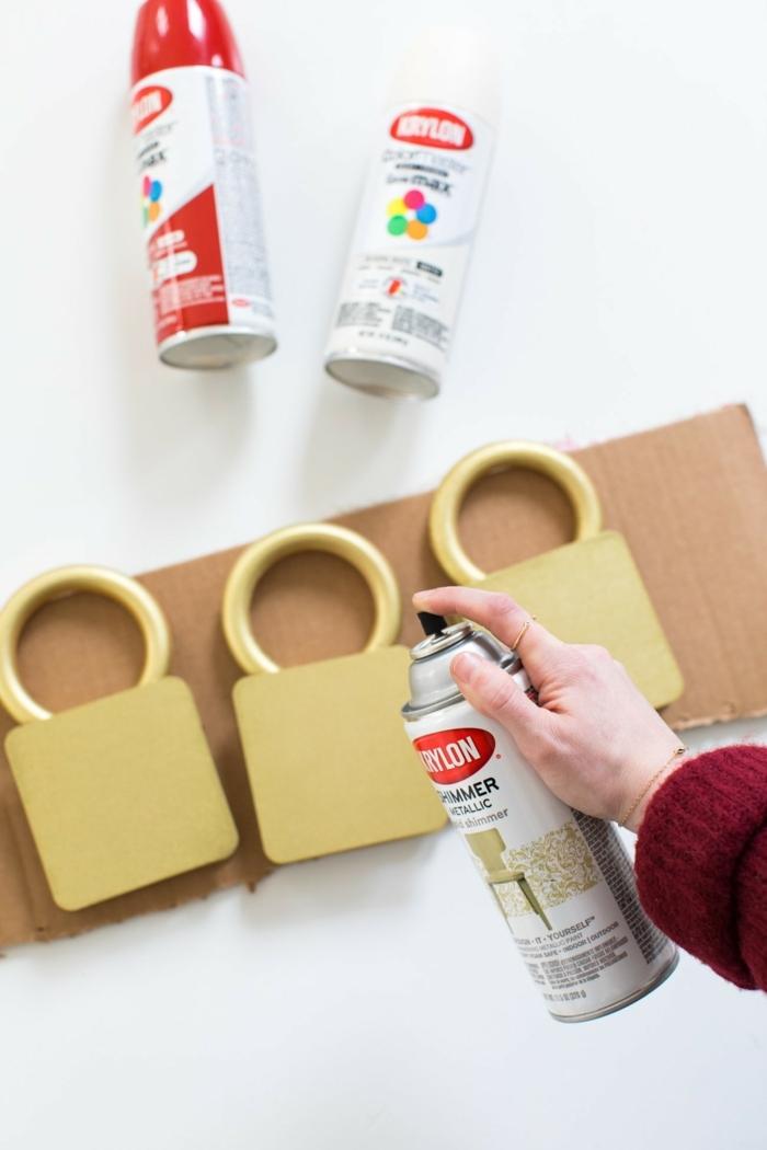 manualidades para decorar la casa en Navidad, tutoriales paso a paso, adornos navideños manualidades en fotos