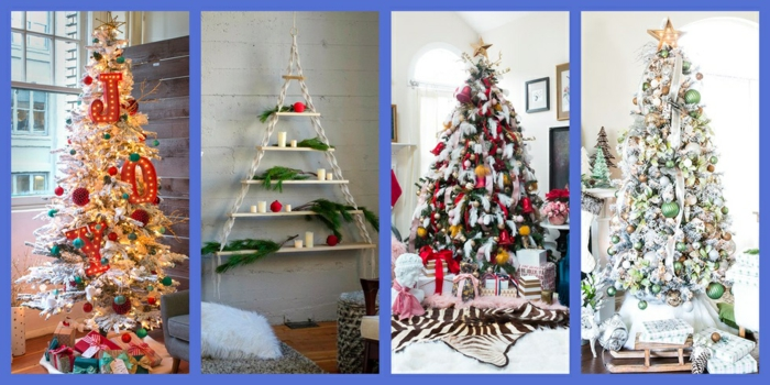 cuatro propuestas decorativas para Navidad, ideas para decorar la casa y últimas tendencias en la decoración navideña DIY