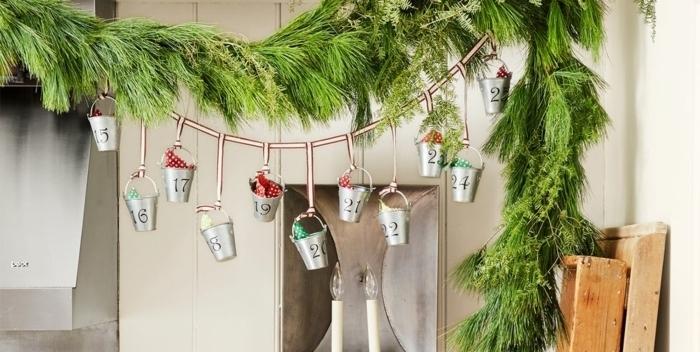 ideas decorativas en estilo rústico, las ideas más originales sobre como hacer un calendario de adviento casero paso a paso