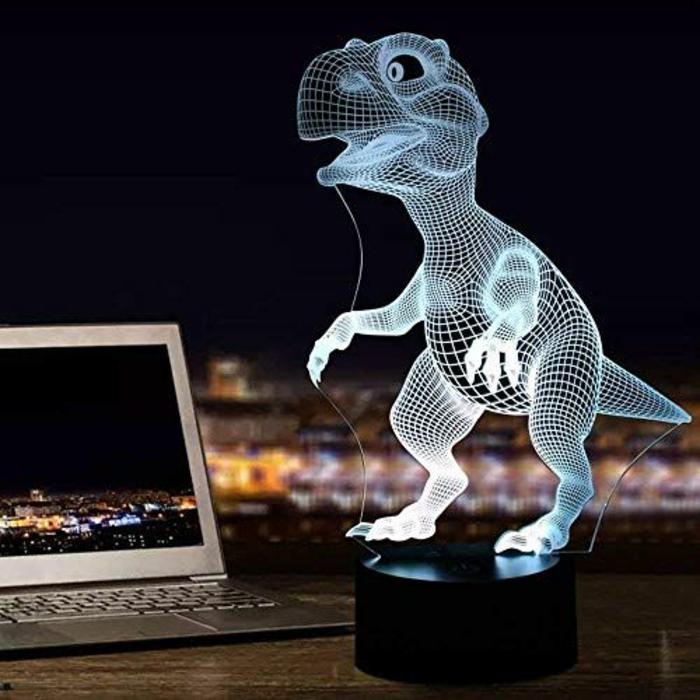 lámpara 3D para regalar a tu novio, regalos para novio en navidad en fotos, fantasticas ideas de regalos creativos para hombres
