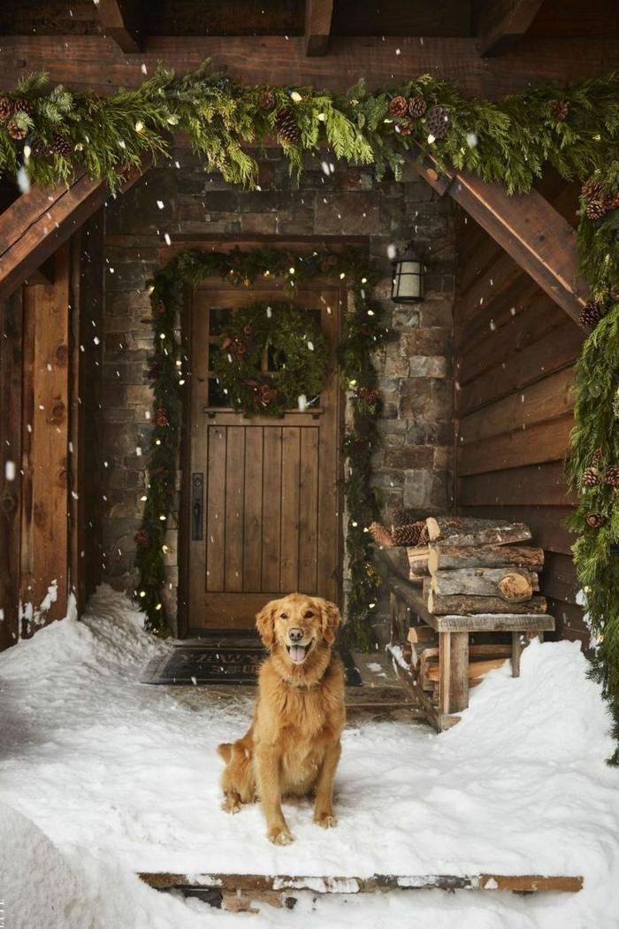 las maneras más acogedoras para decorar tu patio este diciembre, decoracion navideña casera, decoracion con ramos de pino