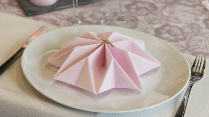 flores 3D hechos de servilletas de tela y papel, las mejores ideas de como doblar servilletas elegantes en más de 80 imágenes