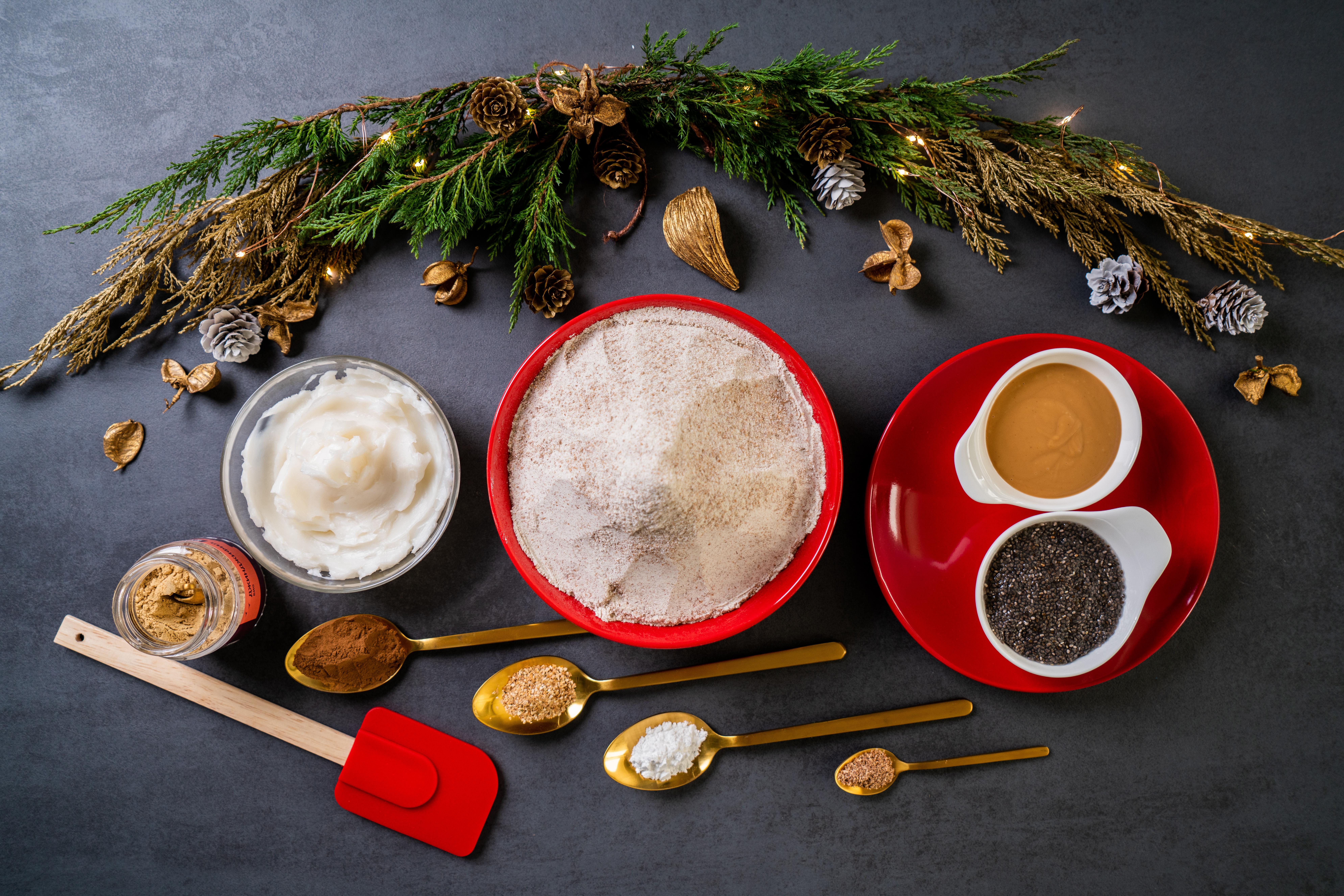 fotos de recetas para navidad, dulces típicos para navidad, como hacer recetas de jengibre fáciles y rápidas, recetas originales