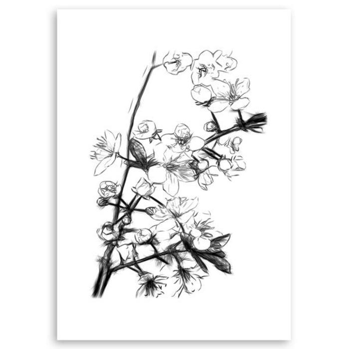 hermoso dibujo de flores, dibujos para calcar y redibujar ideas de dibujos para empezar, dibujar es facil, ideas de pequeocio