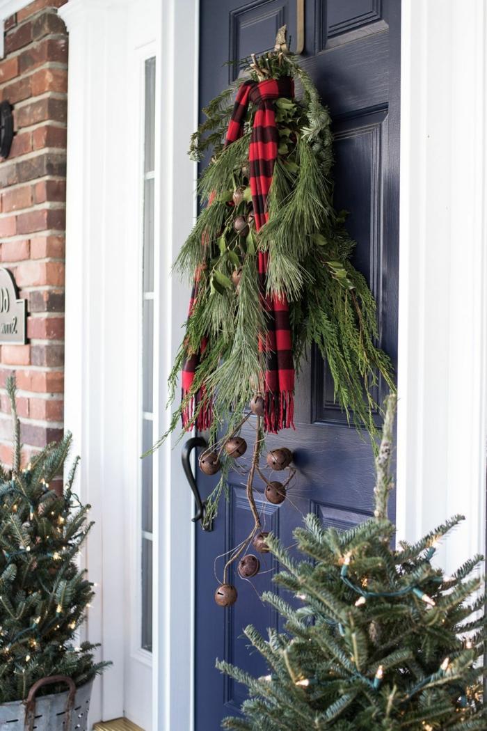 detalles rústicos para decorar la casa, decoracion navideña casera en fotos, decoración de Navidad últimas tendencias