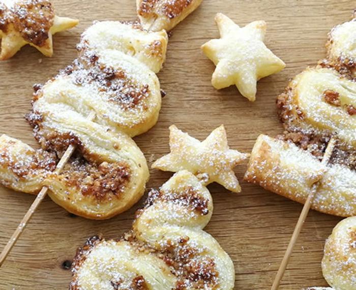 arbolitos de canela y azucar, las mejoresdieas para sorprender a tus invitados en una cena de navidad paso a paso en fotos
