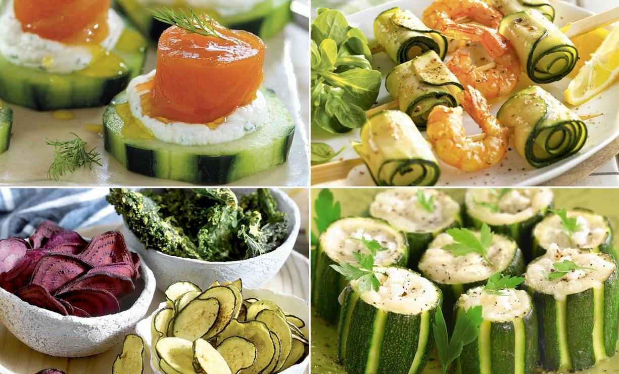 cuatro sabrosas ideas de aperitivos para fiestas, ejemplos de aperitivos sencillos y originales para una cena con amigos
