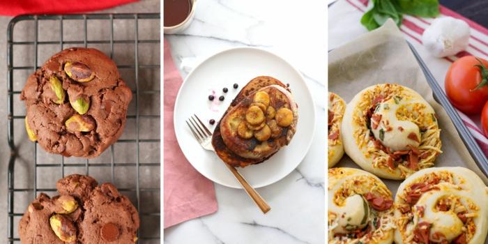 tres propuestas de recetas saludables para toda la familia, ideas de recetas de primeros platos fáciles en fotos, comidas sanas