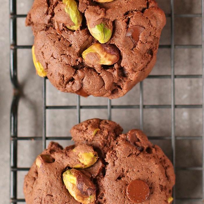 galletas saludables con pistachos y cocoa, cenas rapidas para niños y postres caseros saludables y sencillos para preparar