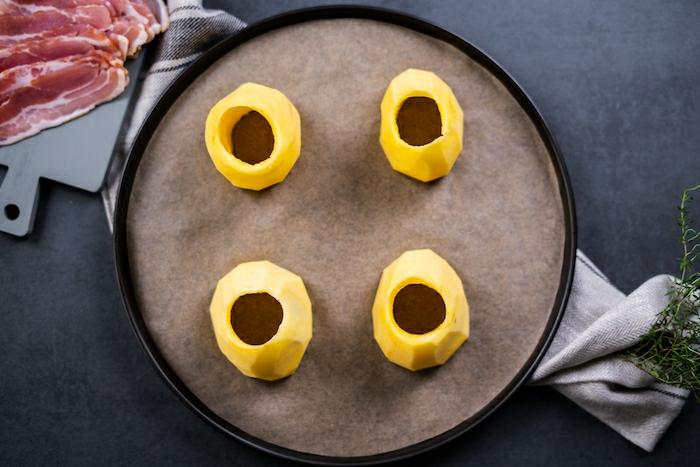 preparativos para hacer papas volcan al horno, las mejores recetas para preparar una cena con amigos paso a paso