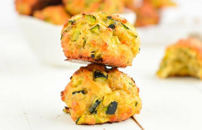 magdalenas saladas super ricas con calabacines, huevos y harina integral, fotos de comidas saludables y fáciles de preparar