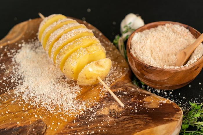 como preparar papas al horno, interesantes propuestas de recetas con patatas, fotos de recetas originales para entrantes
