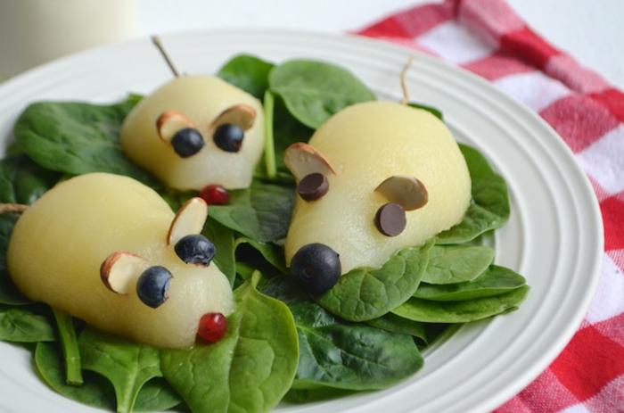 papas cocidas decoradas como ratas, las mejores ideas de almuerzos para pequeños, comidas divertidas para niños