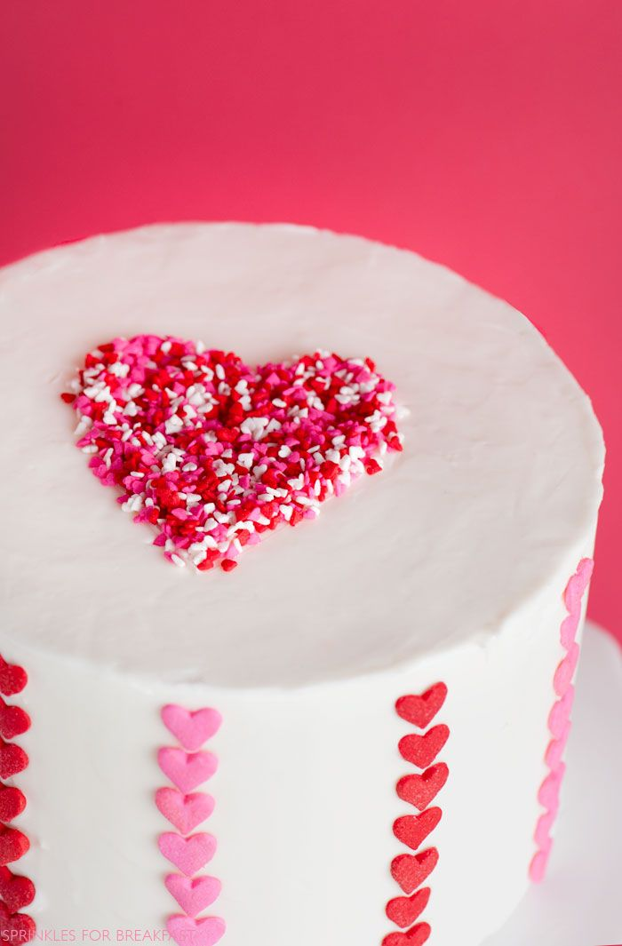 the best proposals on how to decorate a cake in an easy and original way, decorated cakes for valentine