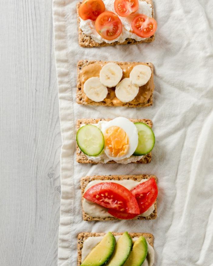 excelentes ideas de meriendas para niños saludables y nutritivas, fotos de comidas ricas y fáciles de preparar en casa